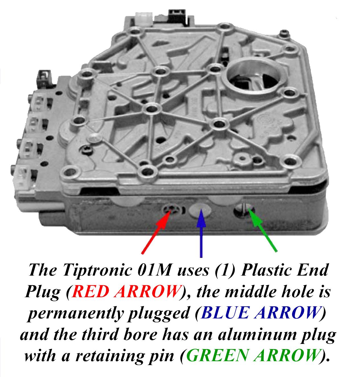 01n transmission valve body