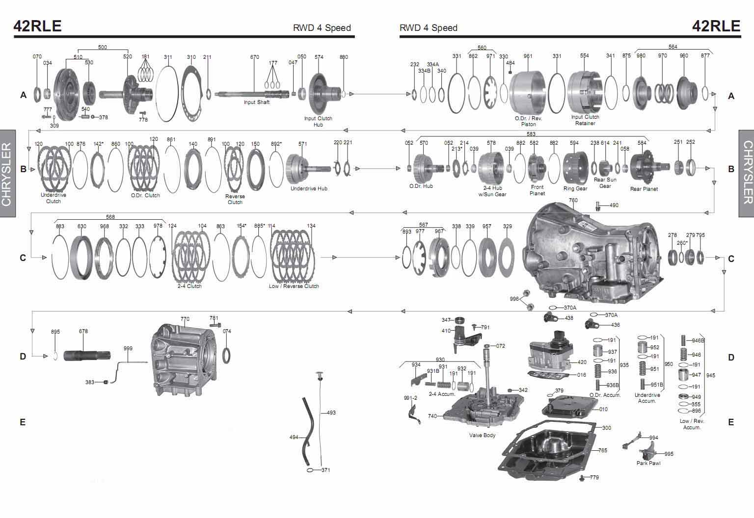 42le A606 42rle further E40d Neutral Safety Switch Wiring Diagram in addition Discussion T34143 ds665111 besides 948726 Probleme Mecanique Ford Focus as well Ford Transmission Illustrations. on ford automatic transmission problems