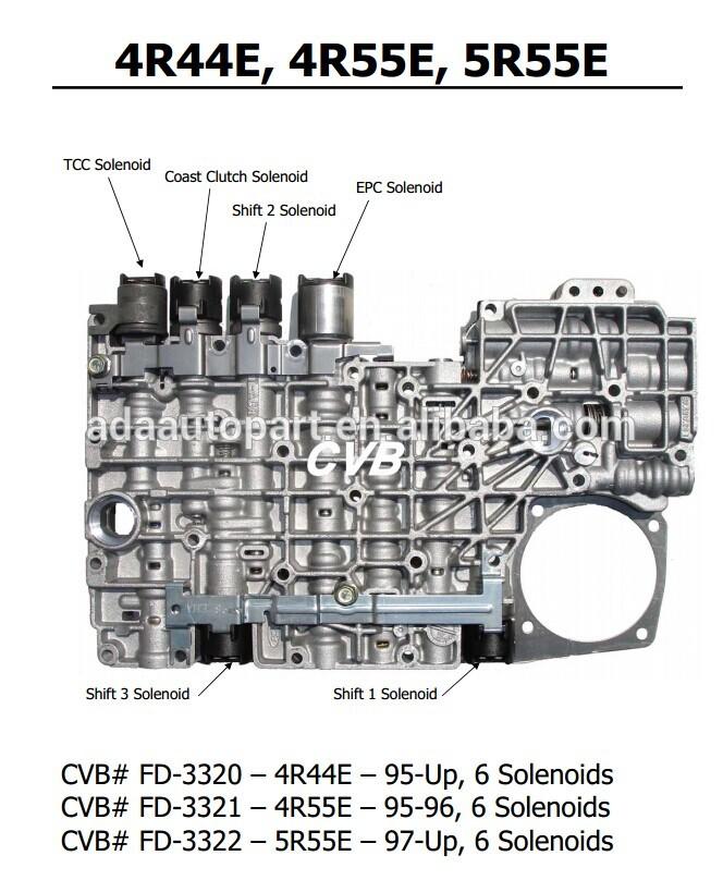 a4ld valve body 4R44E 4R55E