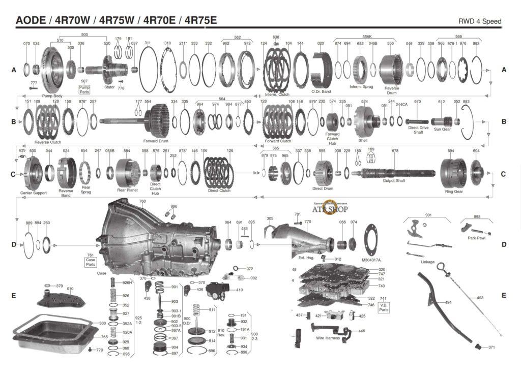4r70w_scheme_diagram