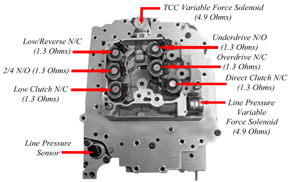 62te transmission valve body