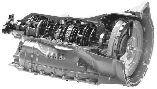 Hp on Zf Transmission 6hp