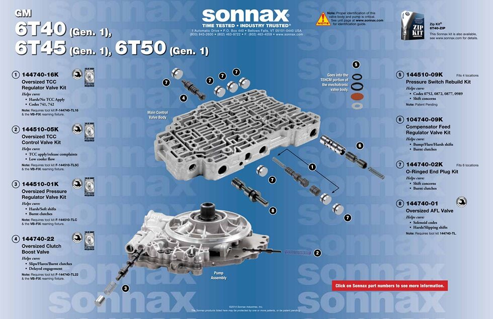 6t40 Transmission Repair Manuals  Gm 6t30  6t45  6t50