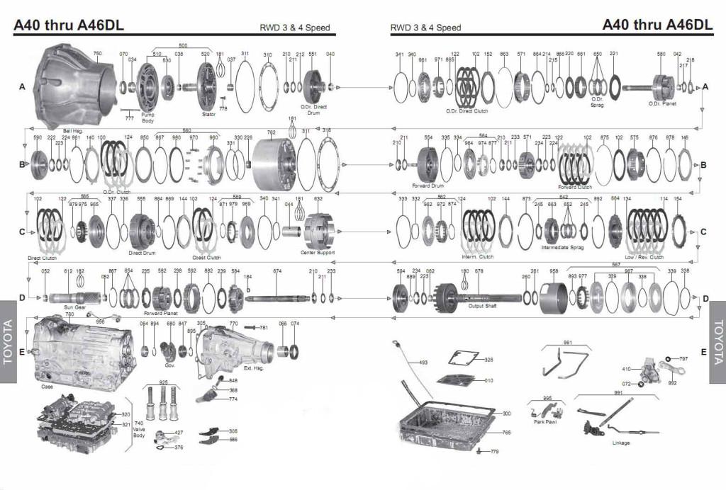 Scheme A42DL - A46DL