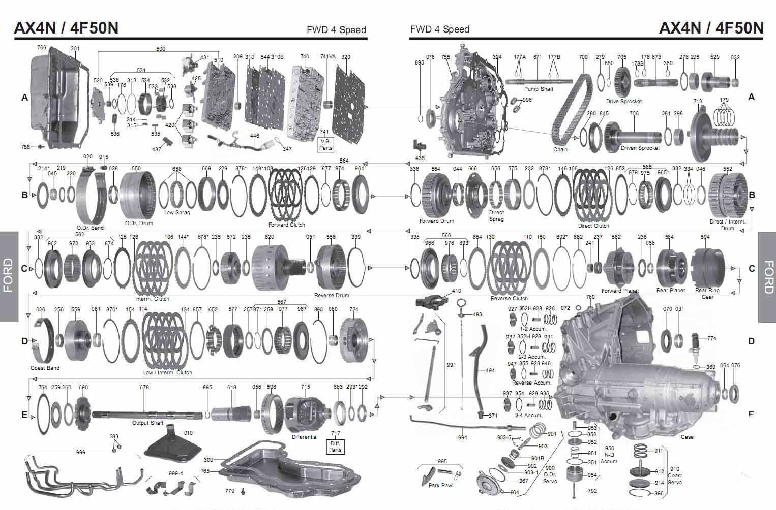 a518 transmission rebuild manual