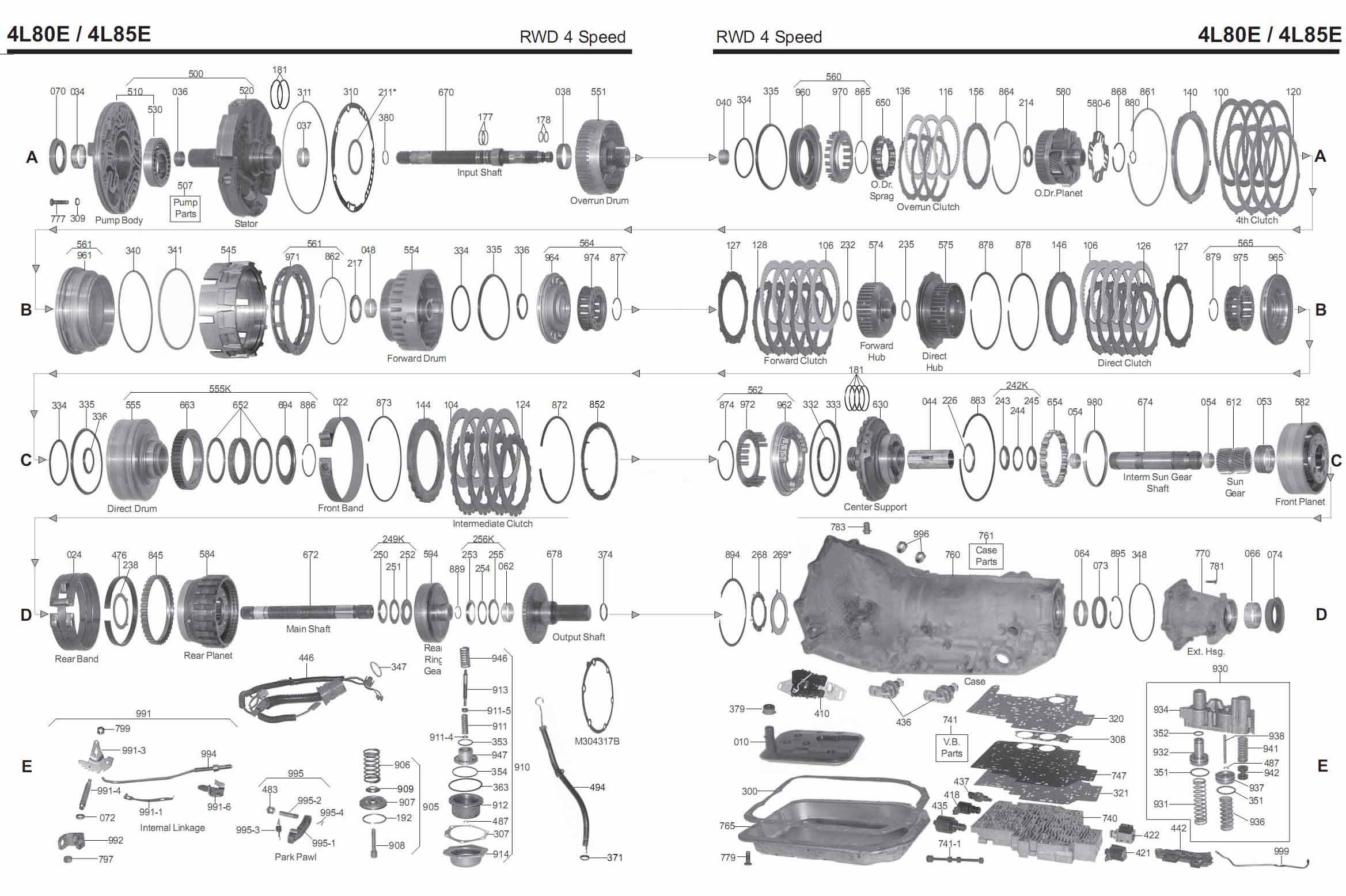 Transmission Repair Manuals 4l80e 4l85e Instructions border=