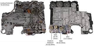 RE4R01A valve body