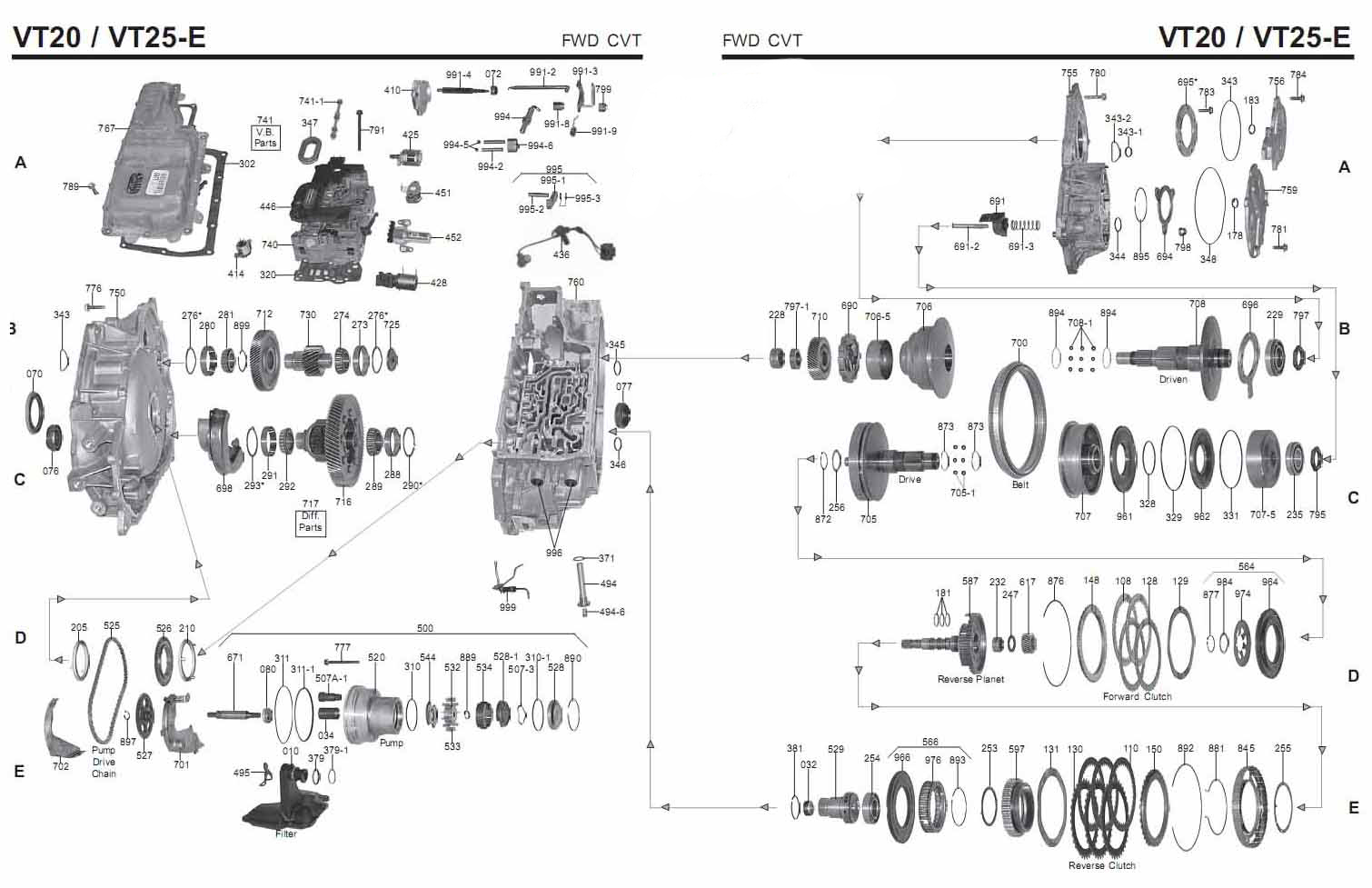 allison 1000 transmission diagram
