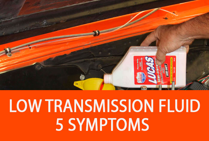 low transmission fluid level