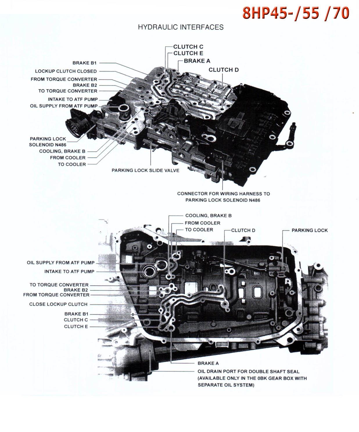 Transmission Repair Manuals Zf8hp45    Zf8hp70    Zf8hp55a    Zf8hp90