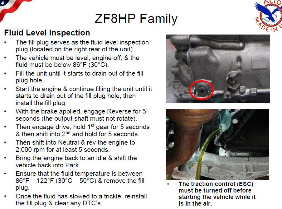zf8hp_fluid_level_check_change