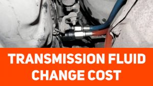 cost for transmission fluid change